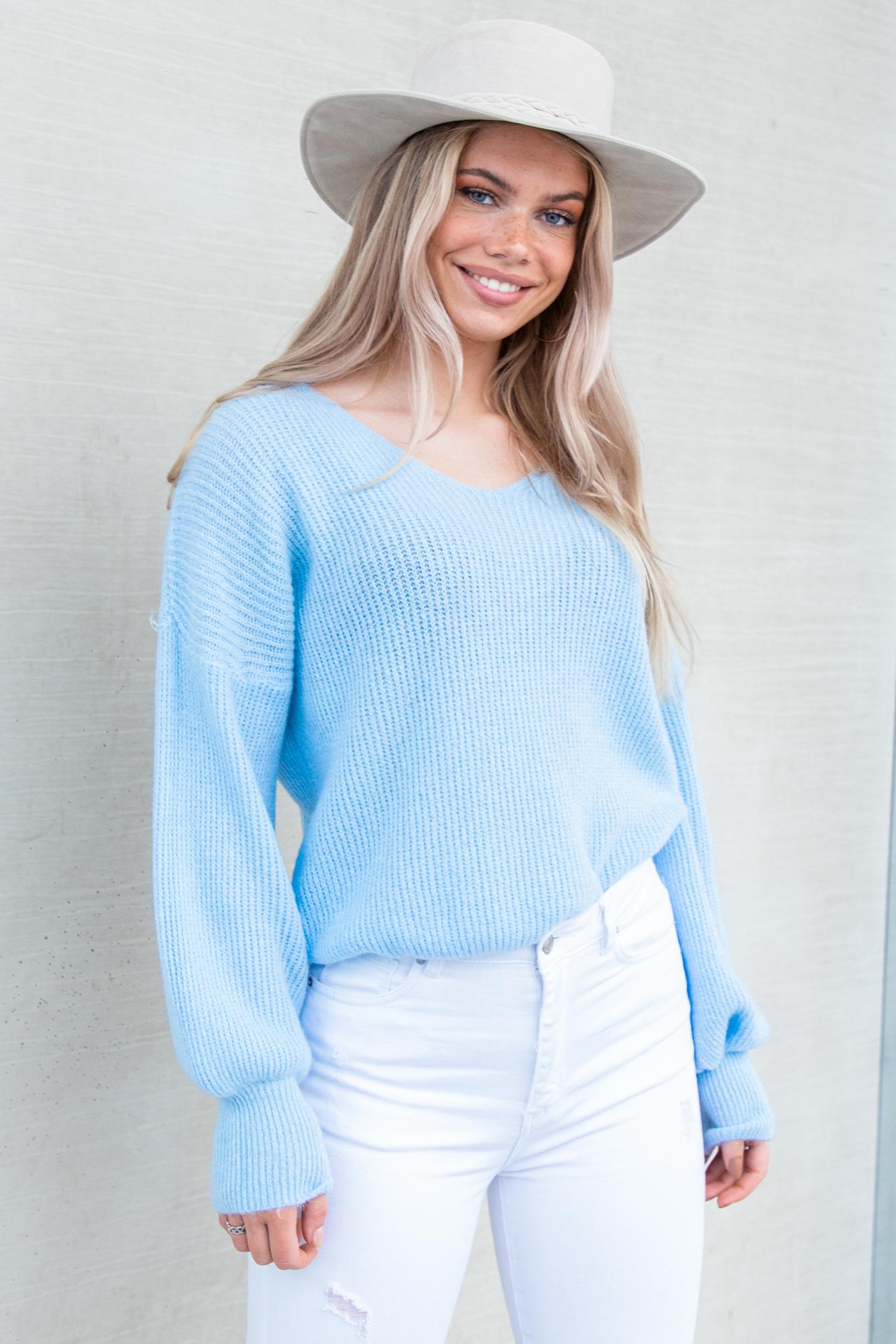 Trui Karlijn blauw