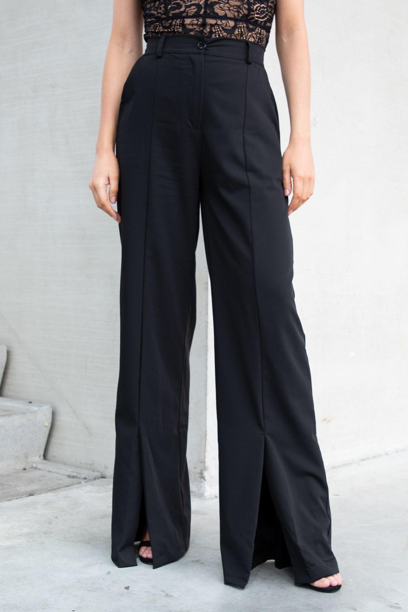 Pantalon Sacha zwart