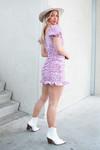 Flower dress Kim lila