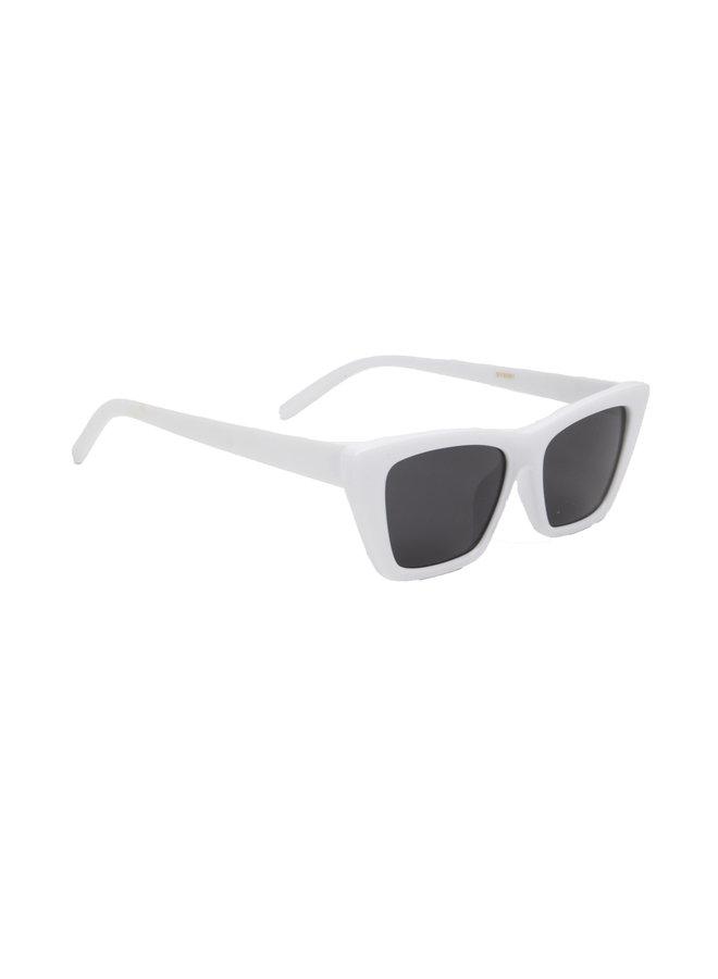 Retro bril zwart wit