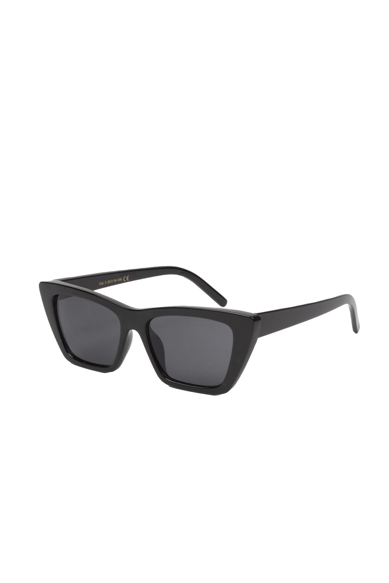 Retro bril zwart