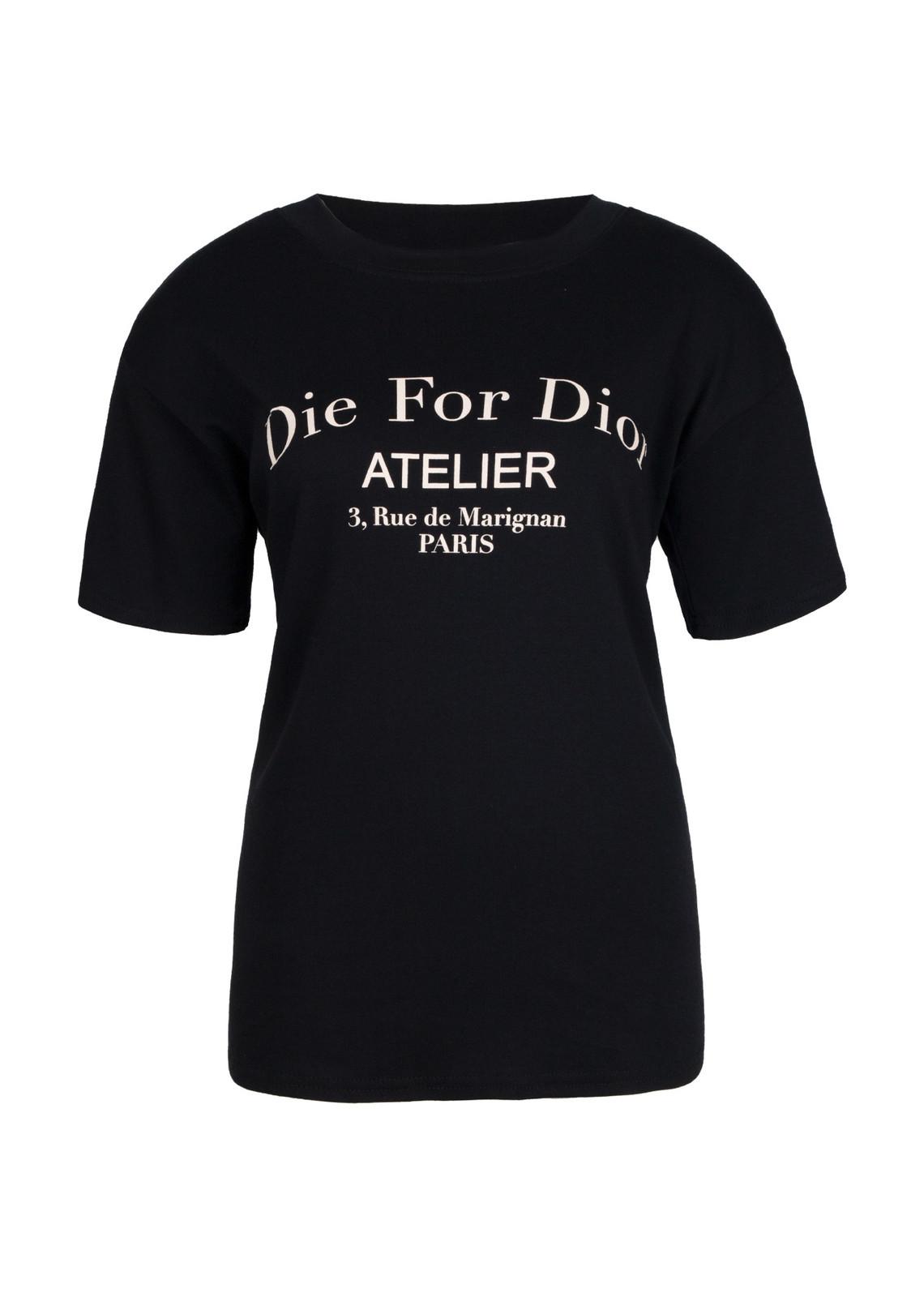 Die for shirt black