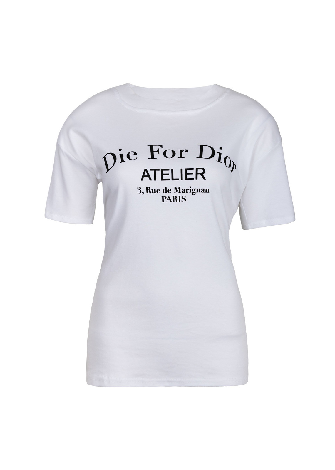 Die for shirt white
