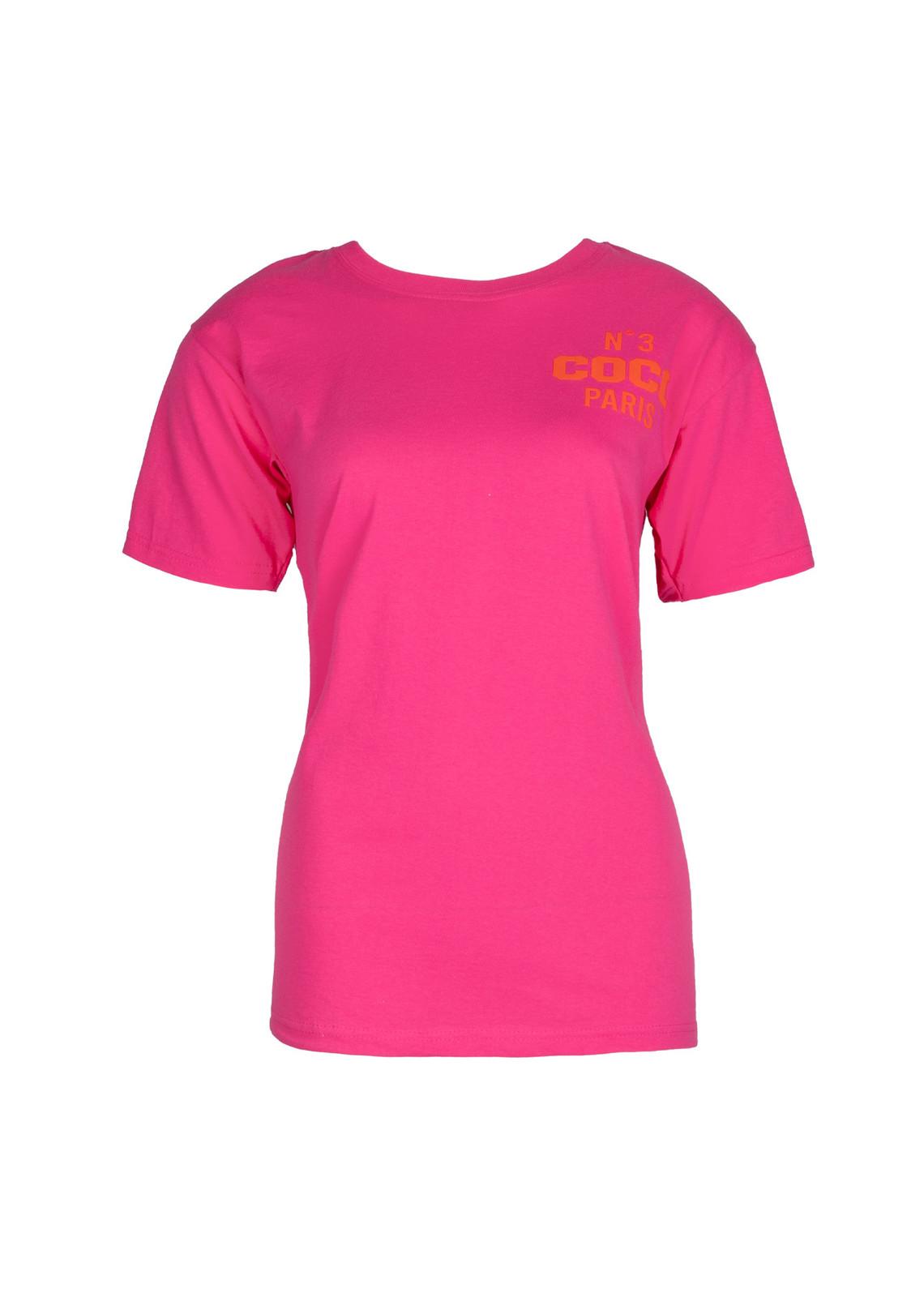 T-shirt Coco fusia