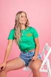 T-shirt Coco groen