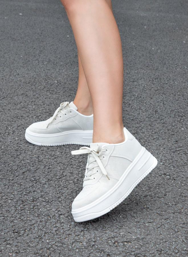 Sneaker Tianna licht beige