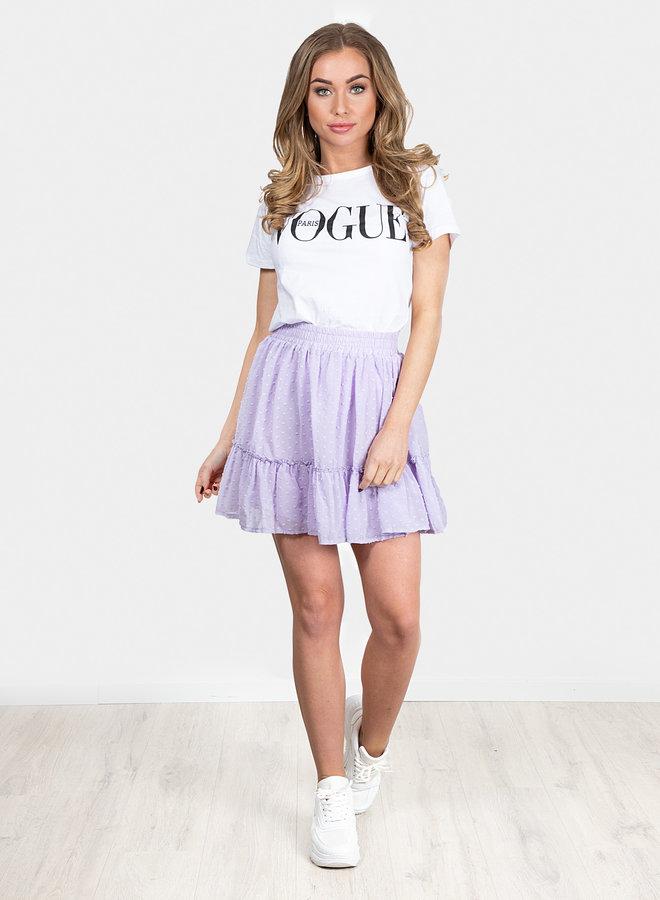 Summer days skirt lila