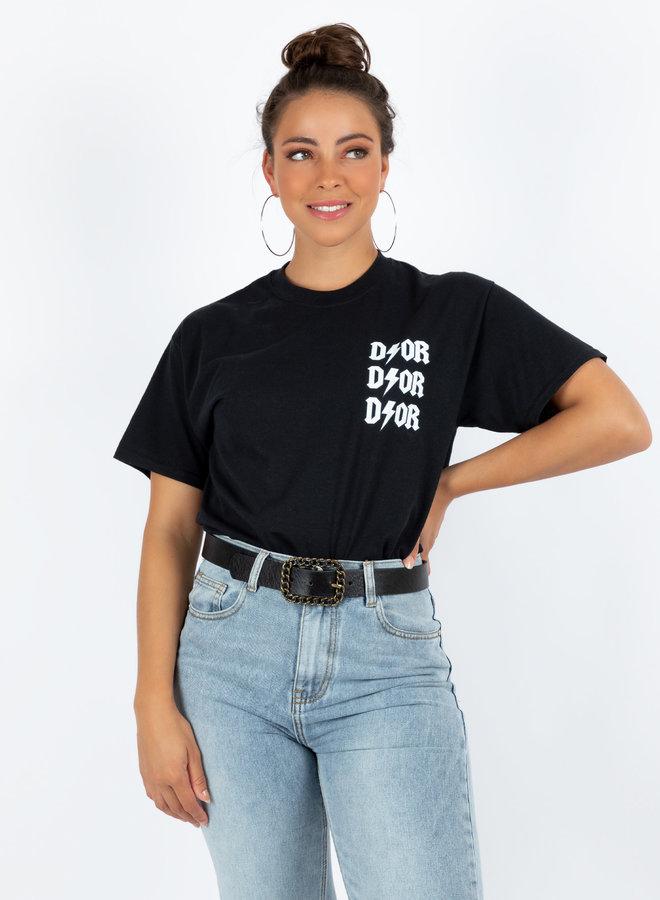 T-shirt Sofie zwart