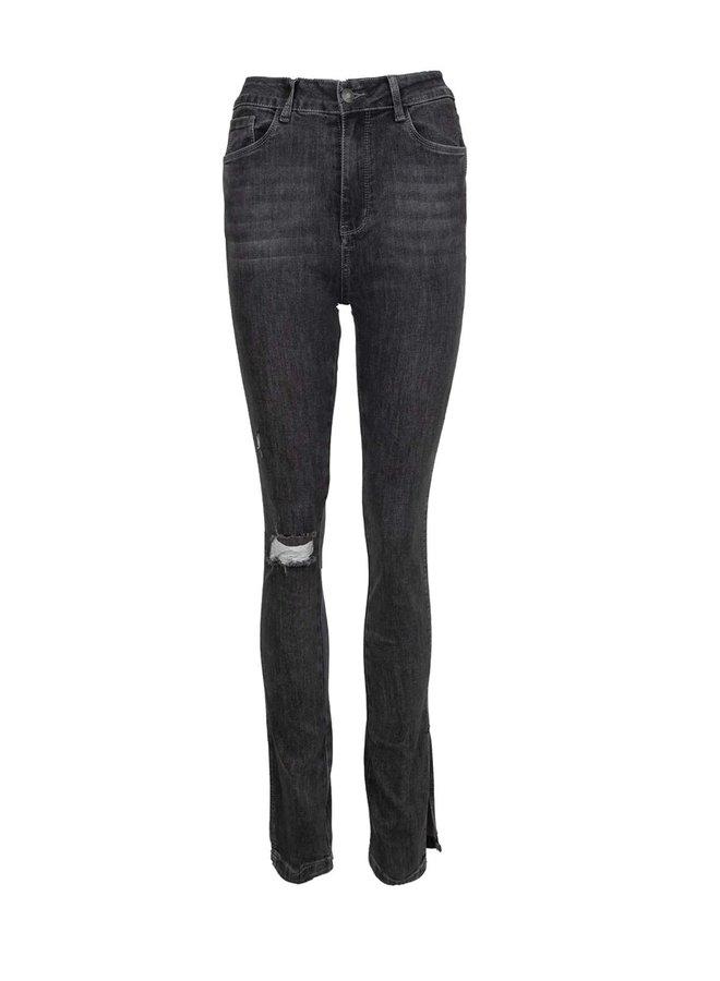 Denim jeans Nora grijs