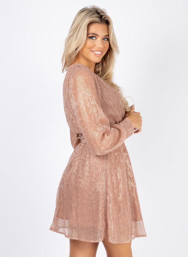 Jurk Leona pink
