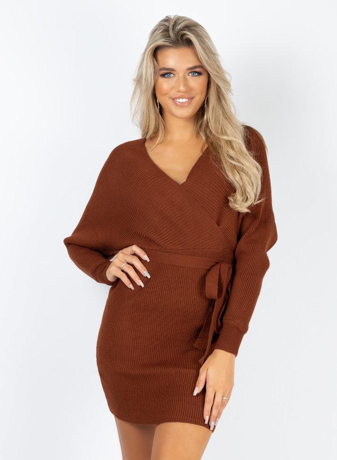 Dress Tara bruin