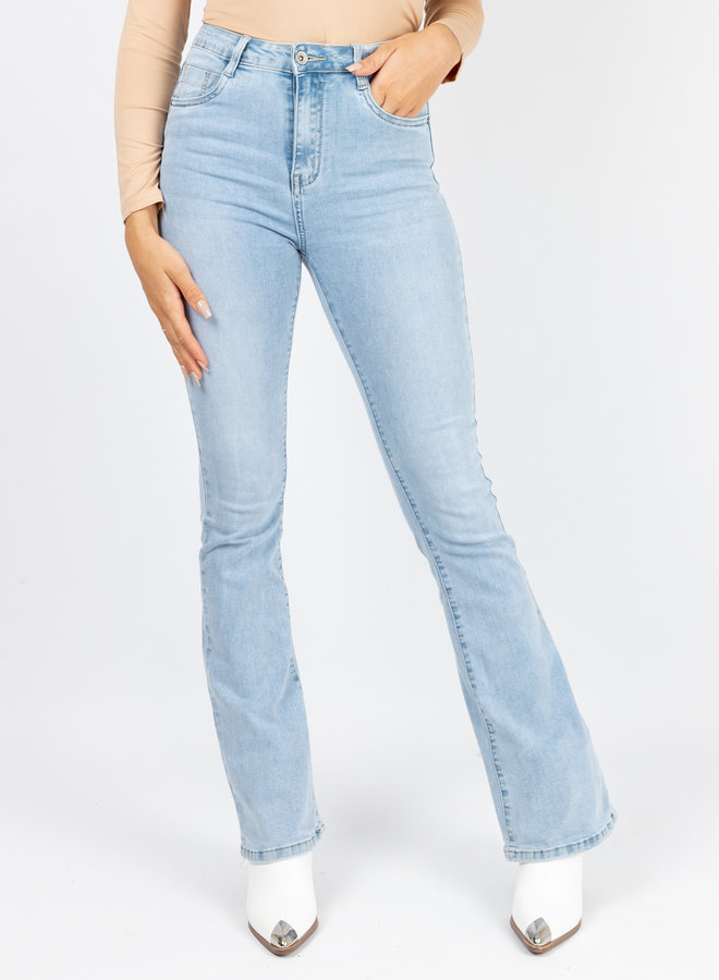 Flare  denim jeans Carla