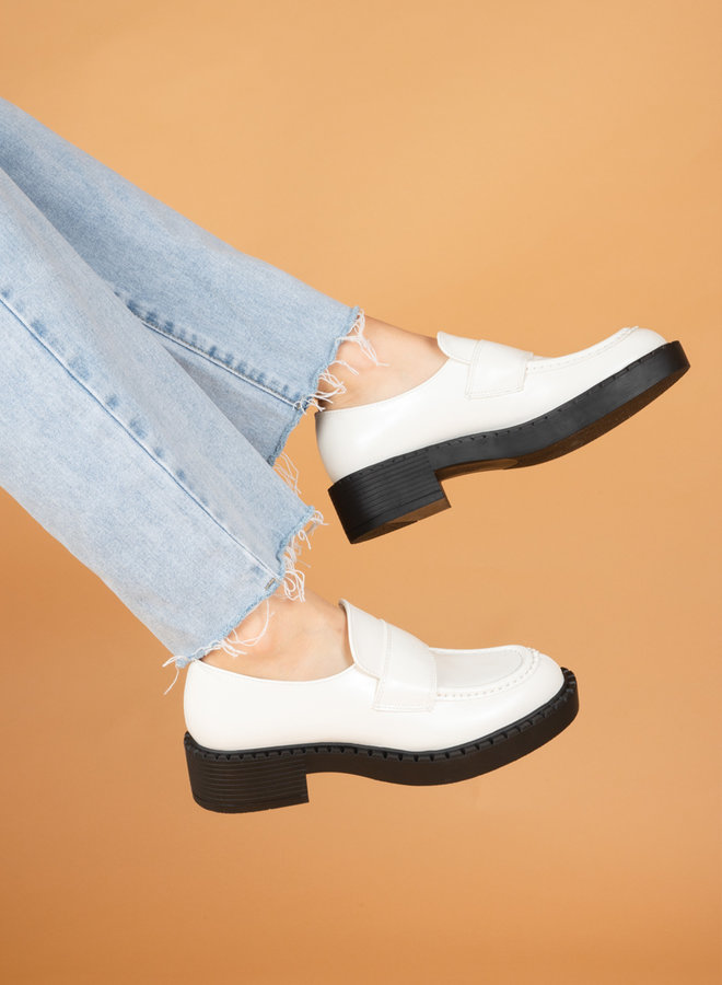 Loafer Joanna wit