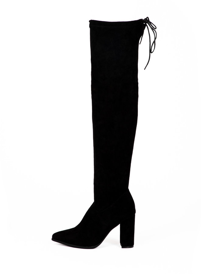 Knielaars Emma zwart