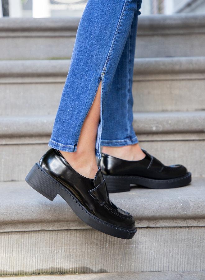 Loafer Joanna zwart