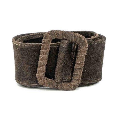 Linda - Suede - Belts with buckles - Brown - 7