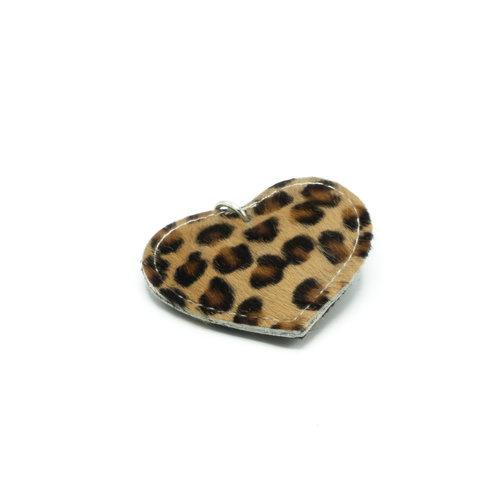 Pipsa - Vacht - Sleutelhangers - Zwart - Cheetah