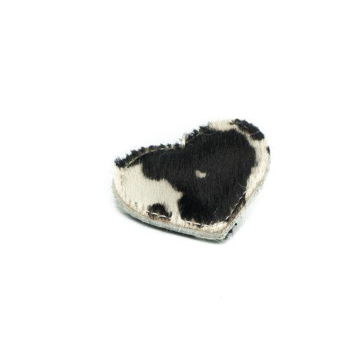 Pipsa - Vacht - Sleutelhangers - Zwart - Koe Zwart