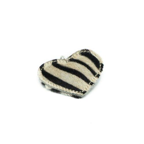 Pipsa - Vacht - Sleutelhangers - Zwart - Zebra