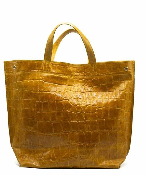 Rosa - Croco - Shoulder bags - Yellow - 44