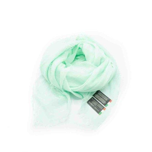 Isabella -  - Effen sjaals - Groen - Mint