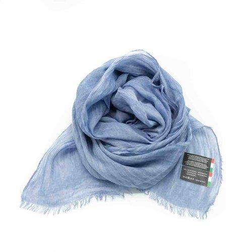 Isabella -  - Effen sjaals - Blauw -