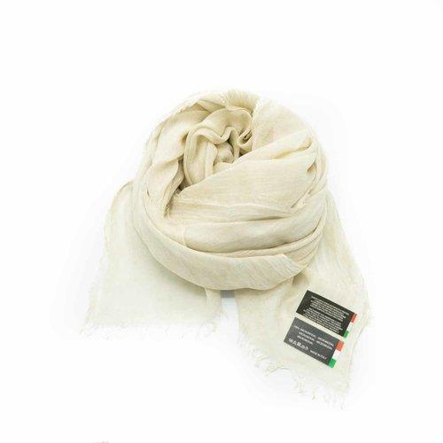 Isabella -  - Effen sjaals - Beige -