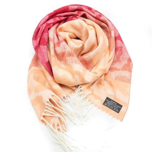 Tina -  - Sjaals met print - Roze -
