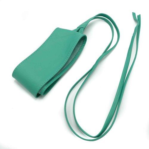 Lily -  - Wikkelriemen - Groen - Turquoise