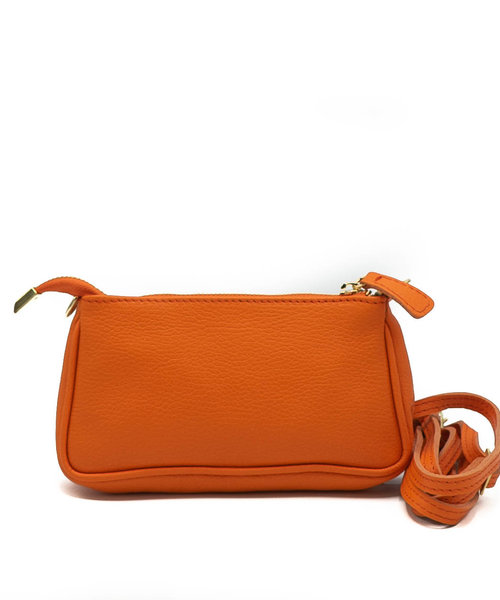 Amelia - Classic Grain - Crossbody bags - Orange - D29