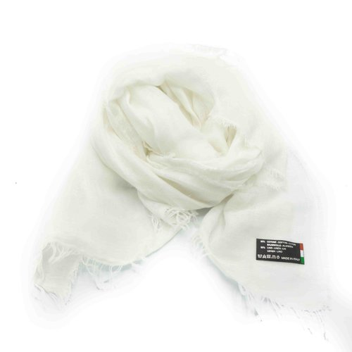 Julia -  - Plain scarves - White - Bianco
