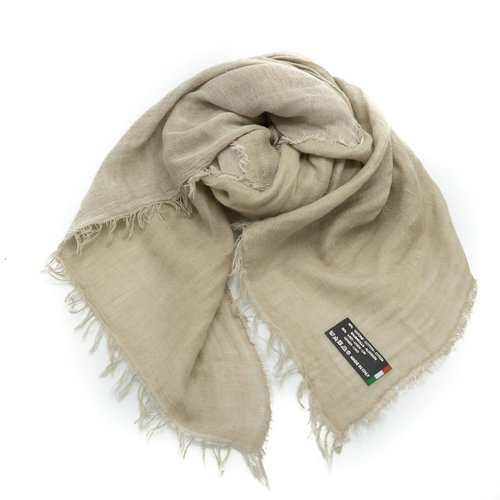 Julia -  - Effen sjaals - Taupe -