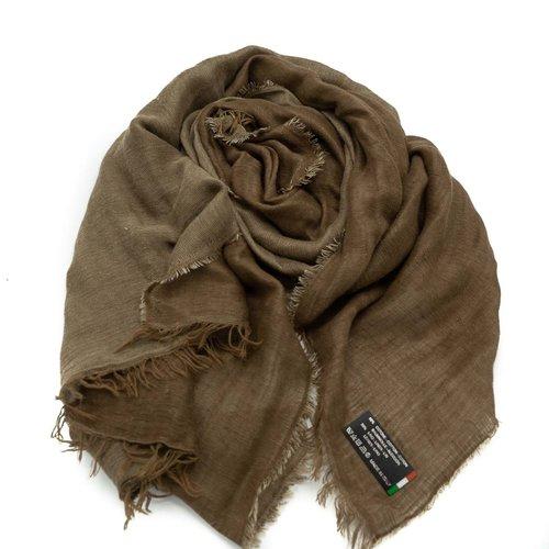 Julia -  - Effen sjaals - Bruin -