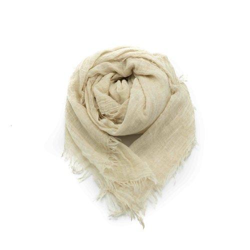 Kaylee -  - Effen sjaals - Beige -