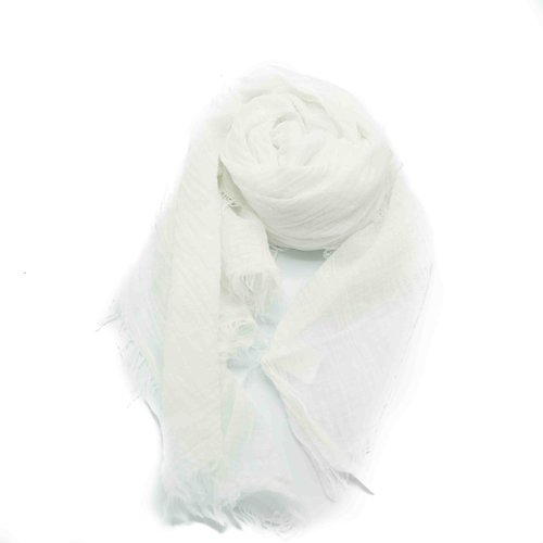 Kaylee -  - Plain scarves - White -