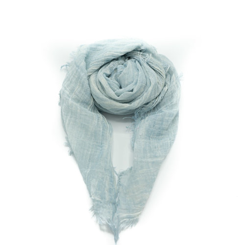 Kaylee -  - Plain scarves - Blue - Celeste