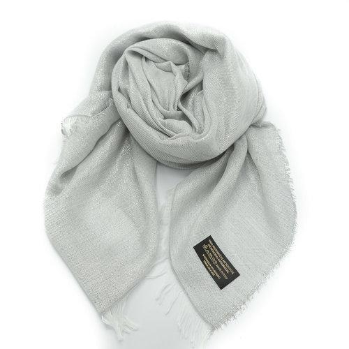 Angela -  - Effen sjaals -  - Zilver