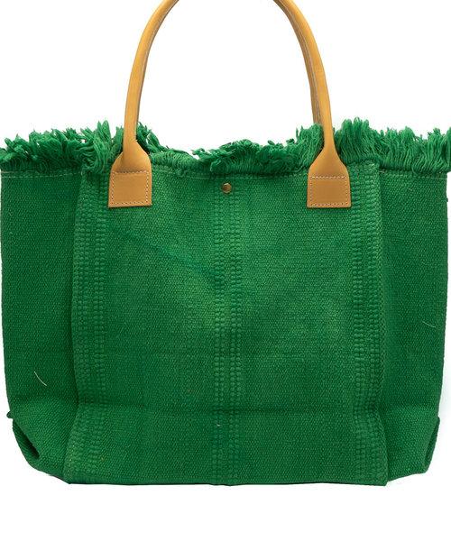 Summer - Canvas - Shoulder bags - Green -
