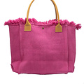 Summer - Canvas - Shoulder bags - Pink -