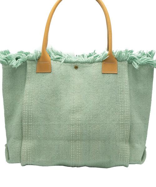 Summer - Canvas - Schoudertassen - Groen - Turquoise