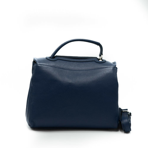 Callie - Classic Grain - Handtassen - Blauw - D24