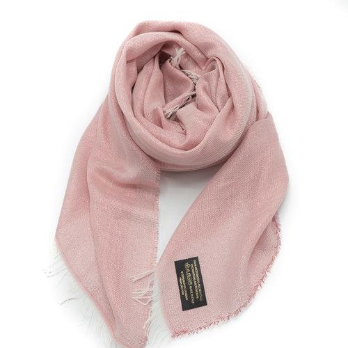 Angela -  - Effen sjaals - Roze -