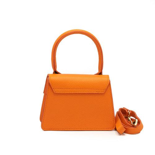 Malia - Classic Grain - Handtassen - Oranje - D29