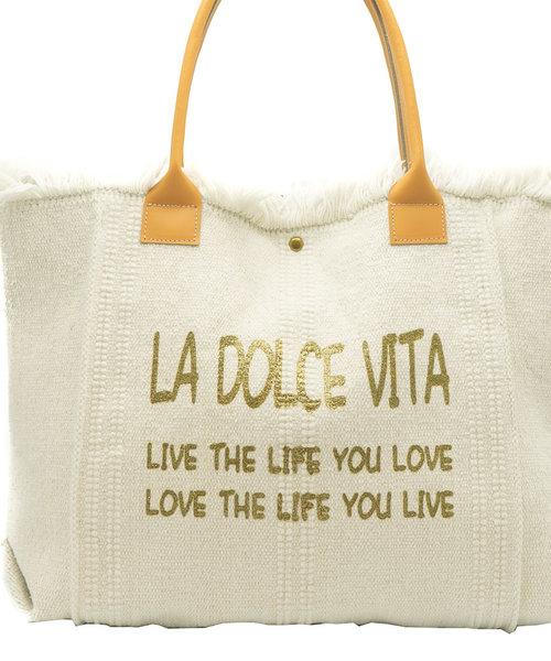 Summer - Canvas - Shoulder bags - White -