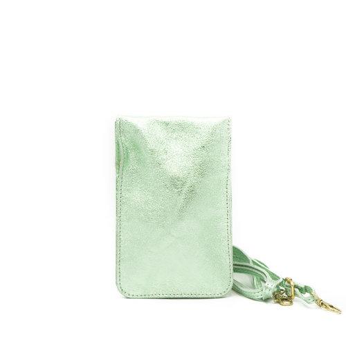 Nieuw Pona - Metallic - Crossbodytassen - Groen - Mint