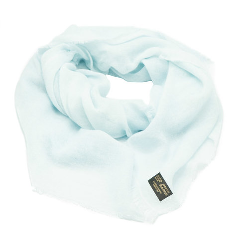 Melody - - Effen sjaals - Blauw - Baby Blauw