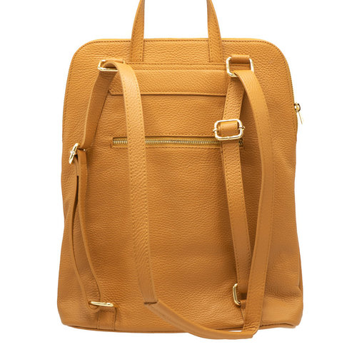 Harper - Classic Grain - Backpacks - Brown - D44