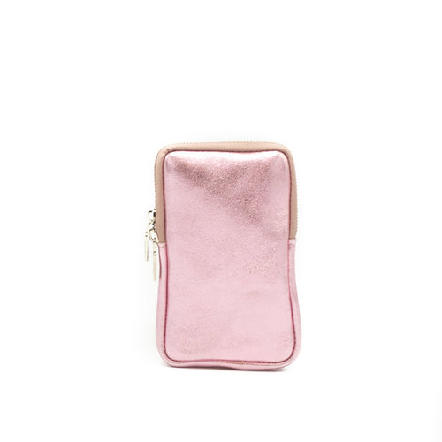 Molly - Metallic - Crossbodytassen - Roze - Rosa Chiara