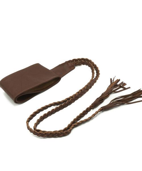 Nora - - Waist belts - Brown - Chocolade -