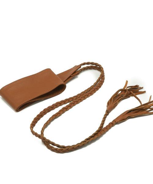 Nora - - Waist belts - Brown - Cognac -